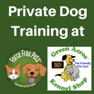 Private Dog Training Logo Image